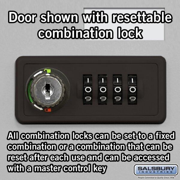10 Door Recessed Cell Phone Locker by Salsbury Industries
