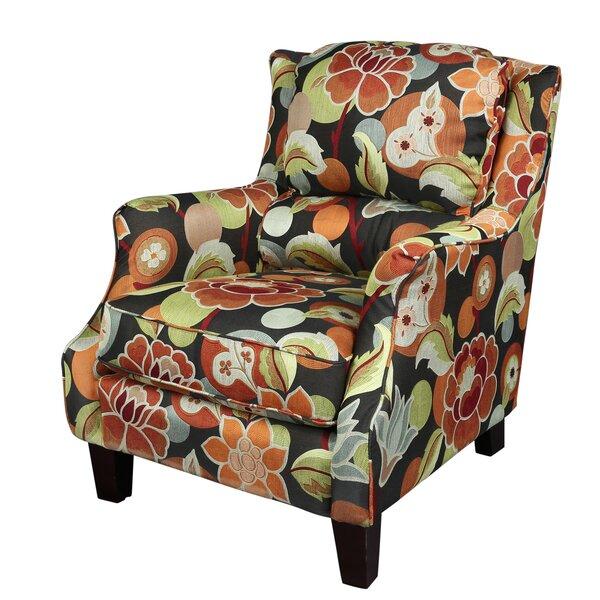 Zoe Floral Armchair by Porter International Designs