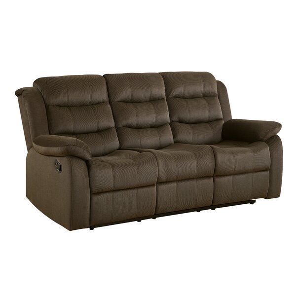 Worrall Casual Solid Reclining Sofa By Red Barrel Studio