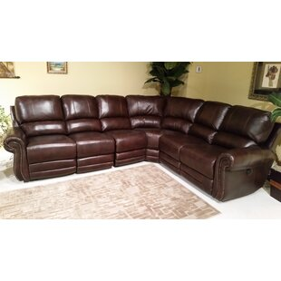 2017 Sale Ferrell Reclining Sectional Red Barrel Studio