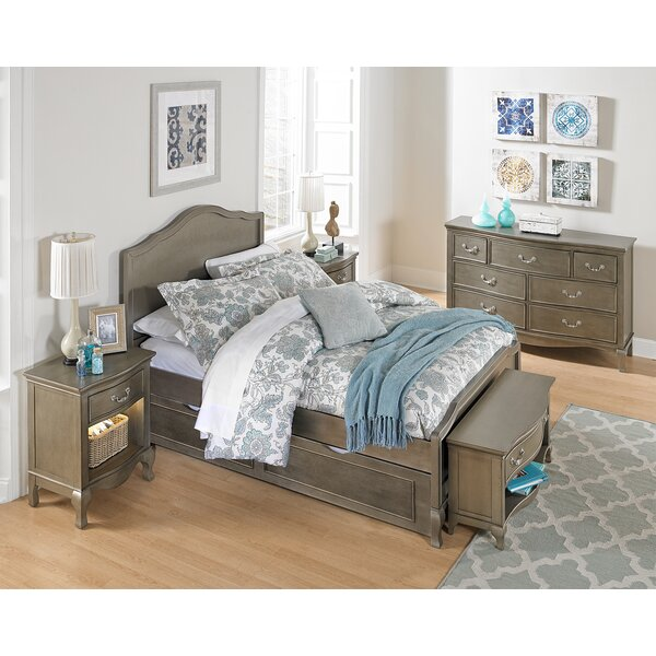 Winifred Full Panel Bed with Trundle by Viv + Rae