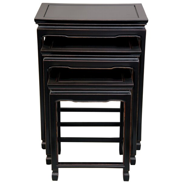 Hunt 3 Piece Nesting Tables by World Menagerie