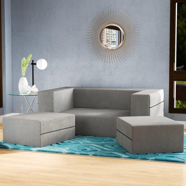 Eugene 61'' Square Arm Sleeper Sofa Bed by Zipcode Design Zipcode Design™