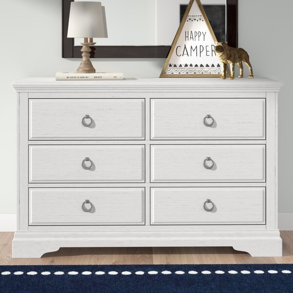 Crampton 6 Drawer Double Dresser By Birch Lane™ Heritage by Birch Lane™ Heritage Bargain