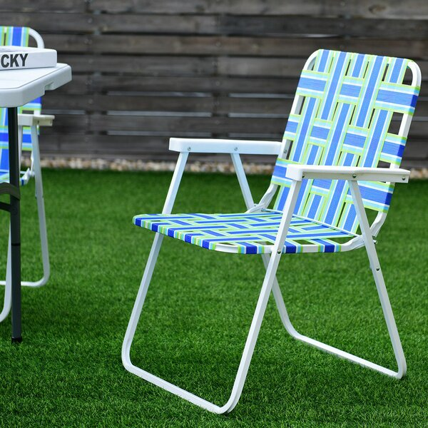 Leicester Folding Camping Chair (Set Of 6) By Freeport Park