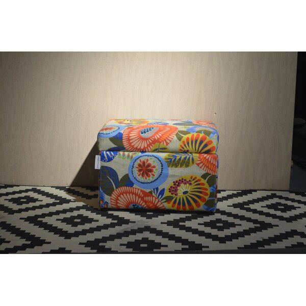 Garrison Cube Ottoman By Ebern Designs