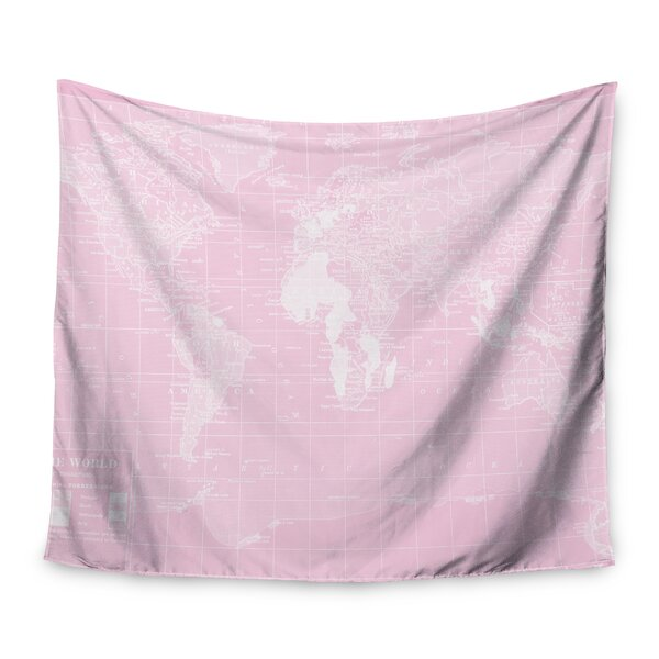 Her World by Catherine Holcombe Wall Tapestry by East Urban Home