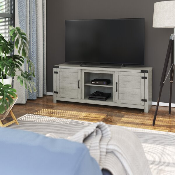 Reviews Guadalupe TV Stand for TVs up to 65 by Laurel Foundry Modern Farmhouse