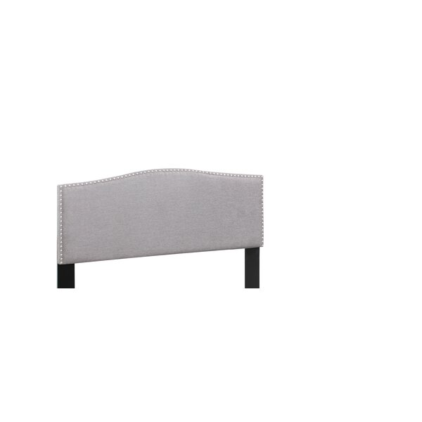 Satchell Upholstered Panel Headboard by Charlton Home