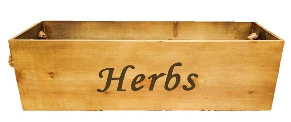Keane Herbs Wood Planter Box by August Grove