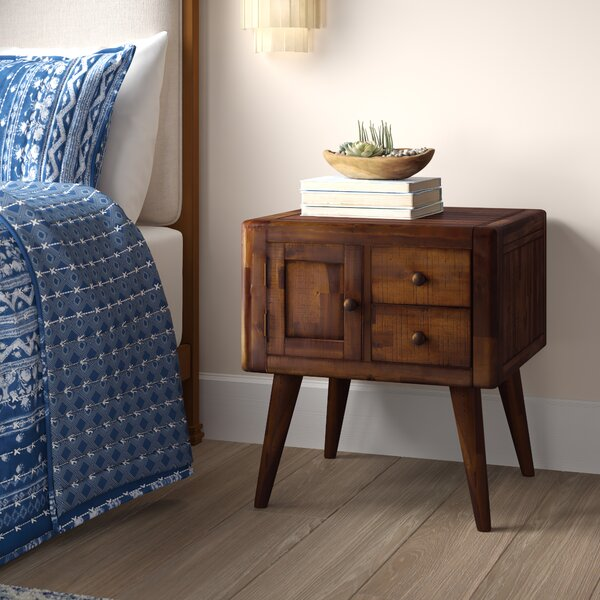 Ashland End Table With Storage By Union Rustic