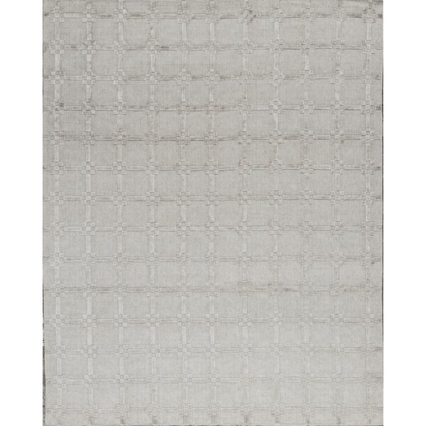 One-of-a-Kind Hand-Knotted Gray Indoor Area Rug by Bokara Rug Co., Inc.