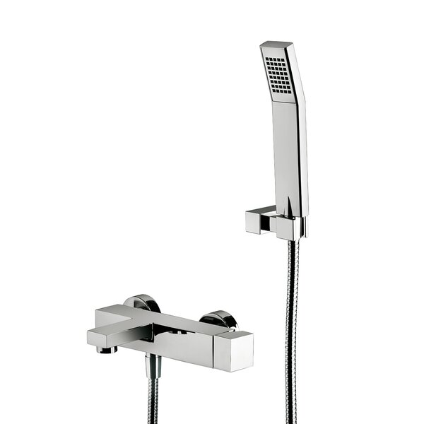 Elle Diverter Shower Mixer/Hand Shower With Lever Handle By WS Bath Collections