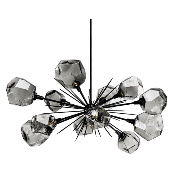 Gem 12 - Light Sputnik Sphere LED Chandelier By Hammerton Studio