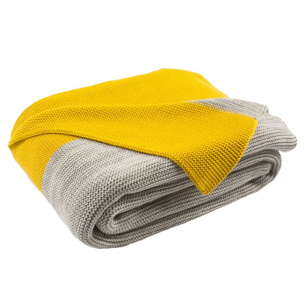 Williamsburg Knit Cotton Throw by George Oliver