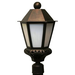 Best Reviews Phillipstown 1 Light 17.75 Post Lantern By Alcott Hill
