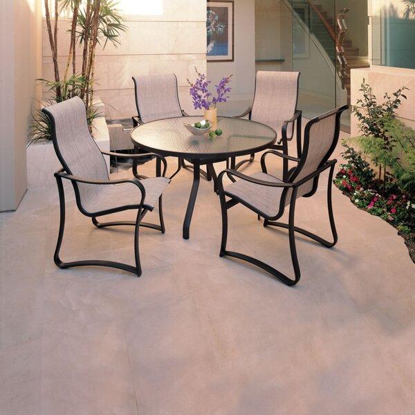 Shoreline 5 Piece Patio Dining Set by Tropitone
