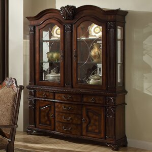 Haines China Cabinet by Astoria Grand Reviews