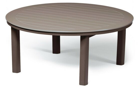 Marine Grade Polymer 54 Round Chat Table by Telescope Casual
