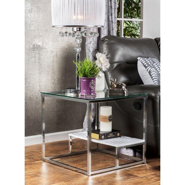 Saniya End Table by Wade Logan