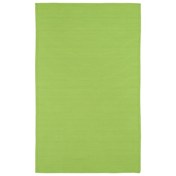 Josephine Lime Green Indoor/Outdoor Area Rug by Bay Isle Home
