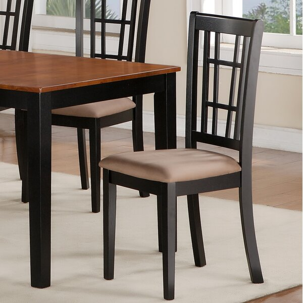 Nicoli Side Upholstered Dining Chair (Set of 2) by East West Furniture