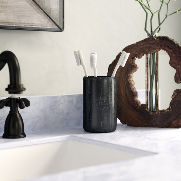 Hansell Marble Spa Toothbrush Holder by Greyleigh