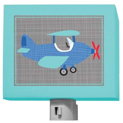Ways To Wheel - Airplane Night Light by Oopsy Daisy