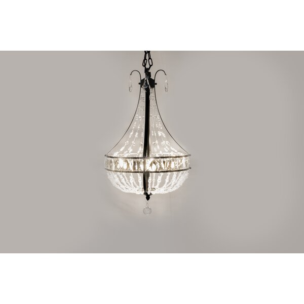 Kamron 4-Light Empire Chandelier by House of Hampton