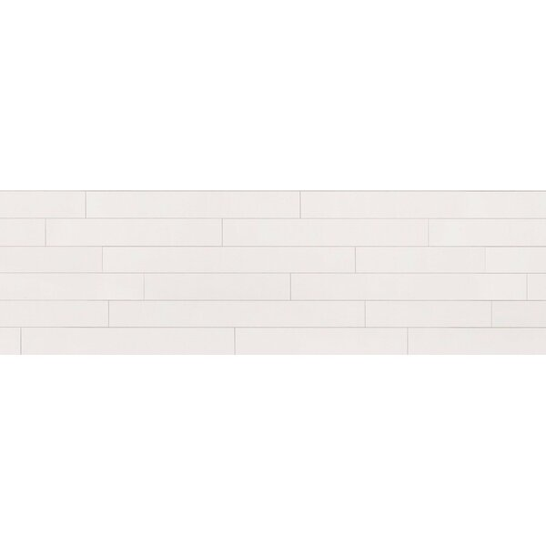 2 Solid Wood Wall Paneling in Alabaster by Wallplanks