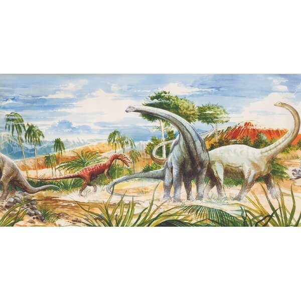 Jamaica Way Dinosaurs Wallpaper Border by Zoomie Kids