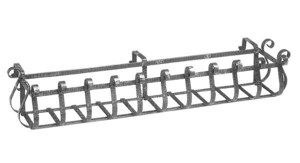 Steel Rail Planter by DJA Imports