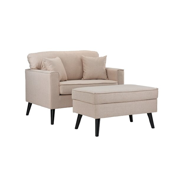 @ Pogue Armchair and Ottoman by Latitude Run| #$289.99!