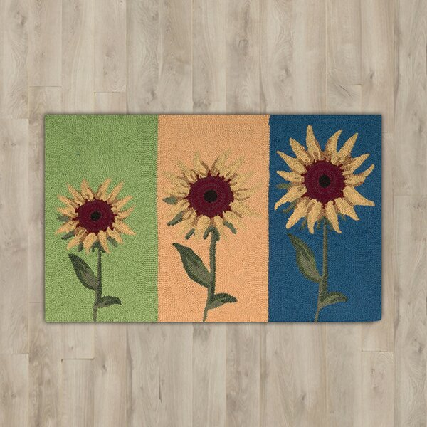Stella Sunflowers Area Rug by August Grove