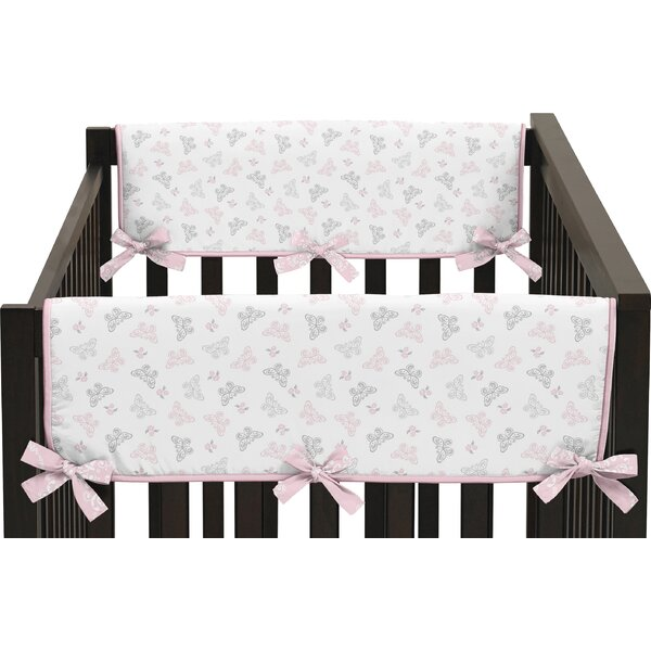 Alexa Side Crib Rail Guard Cover (Set of 2) by Sweet Jojo Designs