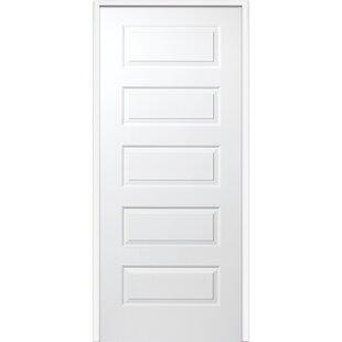 Rockport MDF 5 Panel Prehung Interior Door