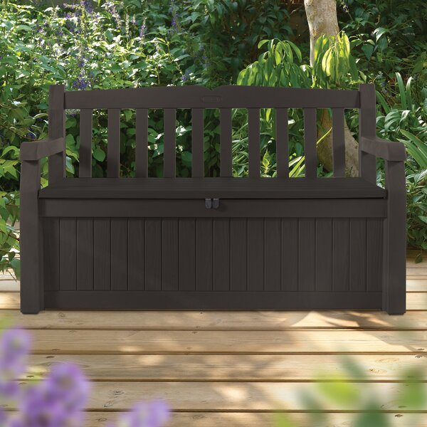 Eden Plastic Storage Bench By Keter
