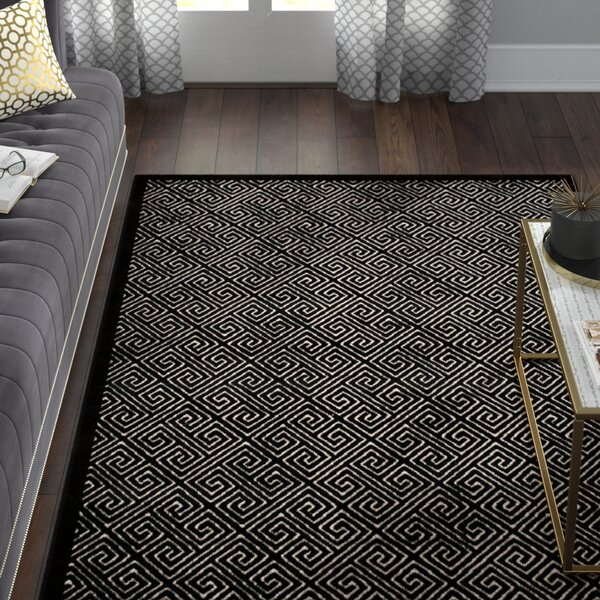 Blondelle Black Area Rug by Willa Arlo Interiors