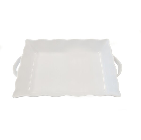 Rectangular Ruffled Stoneware Bakeware by Cook Pro