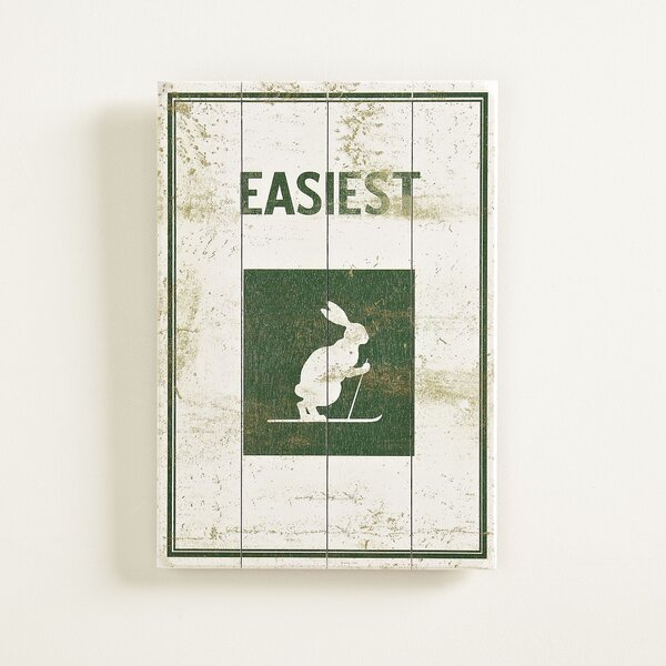 Bunny Hill Plaque by Birch Lane™