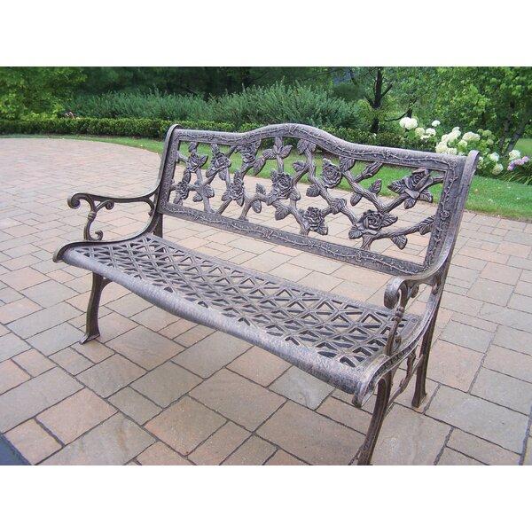 Mcgreevy English Rose Aluminum Bench