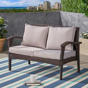 Loveseat Sofa Outdoor Furniture Cushions You Ll Love Wayfair