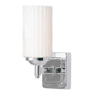Best Glouscester 1-Light Outdoor Flush Mount By Zipcode Design