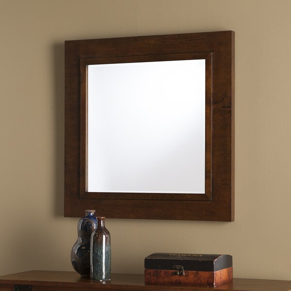 Rectangle Wood Decorative Wall Mirror by Darby Home Co