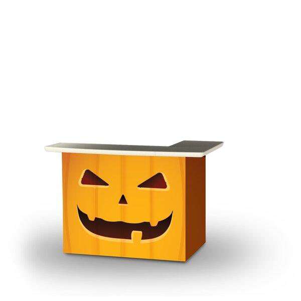 Yass Halloween Jack O Lantern Home Bar by East Urban Home
