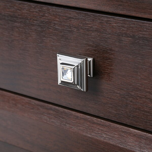 Swarovski Crystal ll Square Knob by Alno Inc