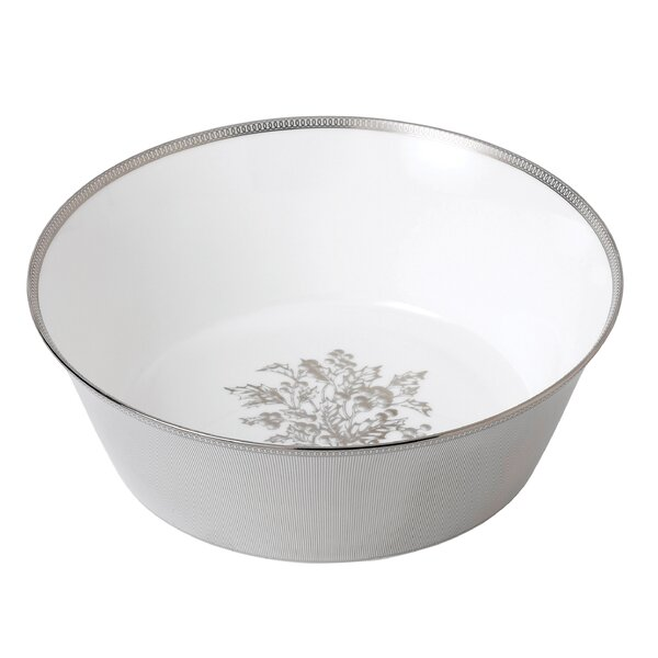 Winter White Bone China Serving Bowl by Wedgwood