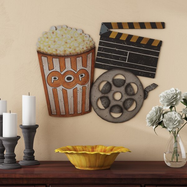 Metal Movie Wall Décor by Red Barrel Studio