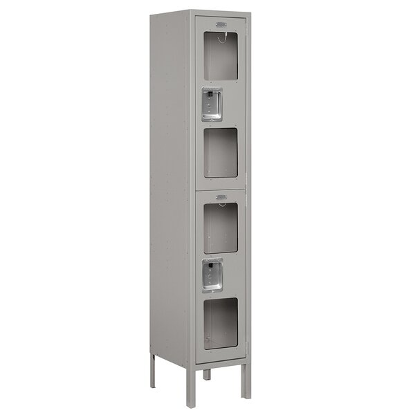 @ 2 Tier 1 Wide Wide Gym and Locker Room Locker by Salsbury Industries| #$190.00!
