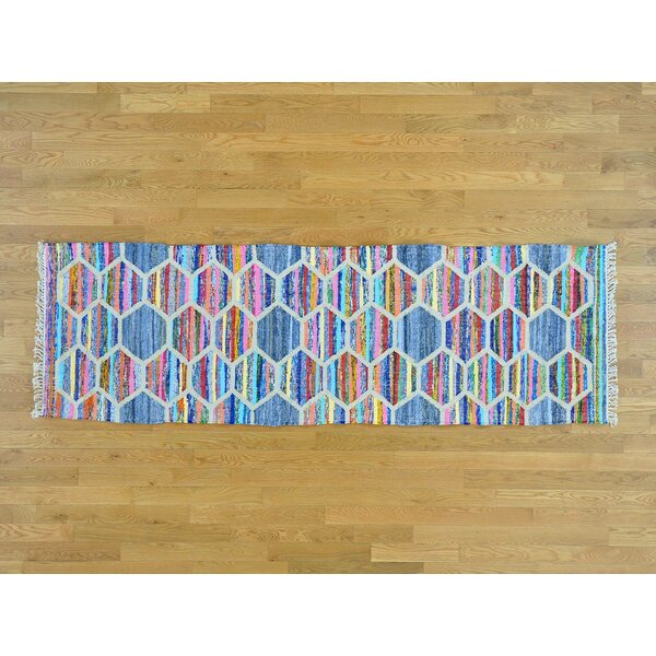 One-of-a-Kind Binette Handmade Kilim Wool Area Rug by Isabelline